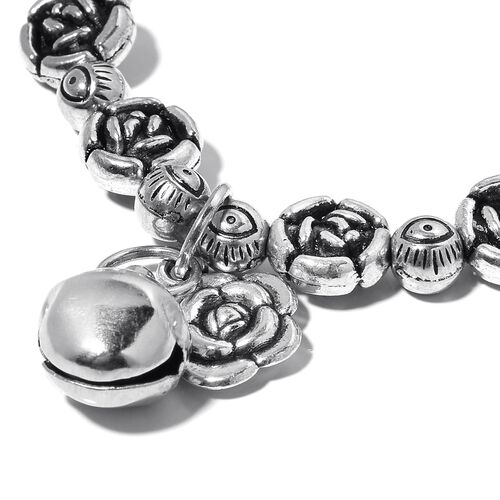 Set of 5 - Simulated White Topaz, Multi Colour Austrian Crystal and Simulated Multi Gemstone Stretchable  Bracelet.