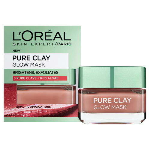 (Option 2) LOreal Paris Pure Clay Glow Mask 50ml