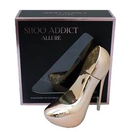 Shoo Addict Allure 100ml EDP in Rose Gold Shoe