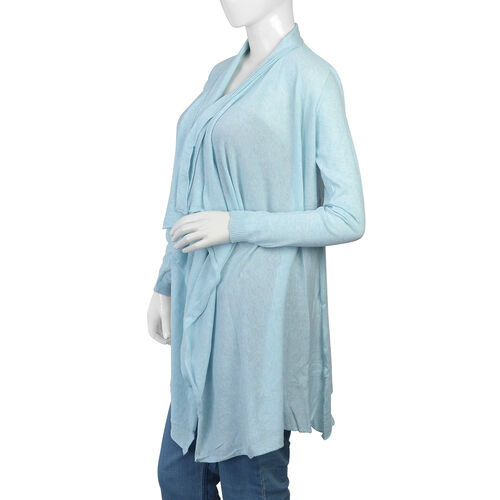 100% Cotton Light Blue Colour Apparel (Size 80x45 Cm)