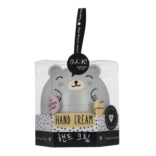 OH K-  Mini Mani Set, Lip Balm Jasmine,Lio Balm Peach and Hand Cream Jasmine