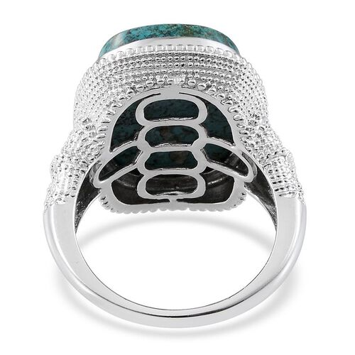 Table Mountain Shadowkite (Cush) Ring in Platinum Overlay Sterling Silver 18.500 Ct.