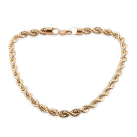Exclusive Edition- Surabaya Gold Collection - 9K Yellow Gold Rope Necklace (Size 20), Gold wt 42.50 Gms.