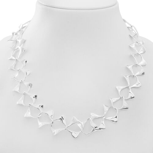 Limited Edition - Sterling Silver Necklace (Size 20), Silver wt. 47.50 Gms.