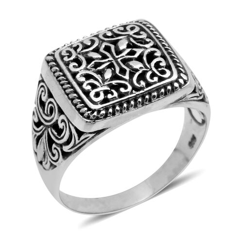 Royal Bali Collection Sterling Silver Ring, Silver wt 5.08 Gms.