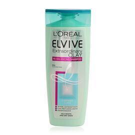 LOreal Paris Elvive Extraordinary Clay Re Balancing Shampoo 250ml