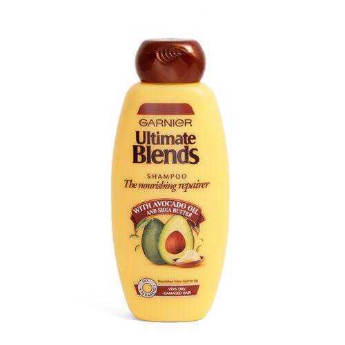 Garnier Ultimate Blends strength restorer shampoo 400ml
