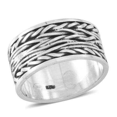 Thai Sterling Silver Ring, Silver wt 8.30 Gms.