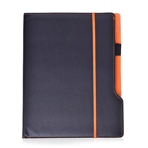 Orange Memo Pad/ Business Planner (A4 Size) with Calculator