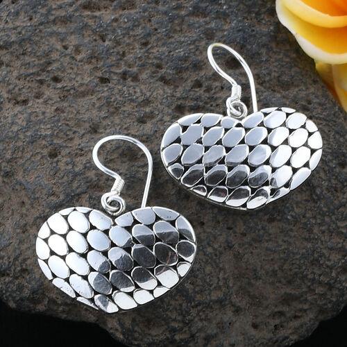 Designer Inspired - Sterling Silver Heart Earrings