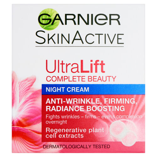Garnier Ultralift Anti-Wrinkle Firming Night Cream 50ml