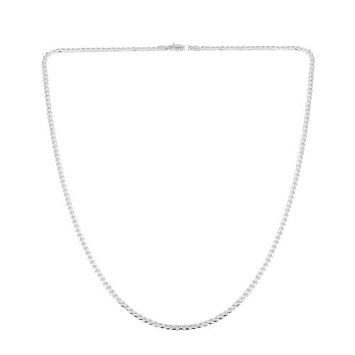 Close Out Deal Sterling Silver Curb Chain (Size 22), Silver wt 5.90 Gms.