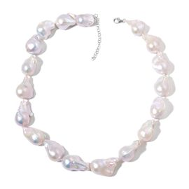 OTO - Signature Collection RHAPSODY 950 Platinum Extremely Rare AAAAA Organic Natural Fresh Water (Size 23-28 mm) Pearl Necklace (Size 18 with 2 inch Extender)