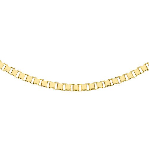 Close Out Deal 9K Y Gold Box Chain (Size 18), Gold wt 5.20 Gms.