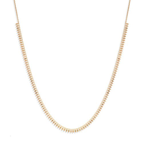 JCK Vegas Collection 9K Yellow Gold Cleopatra Necklace (Size 17 with 3 inch Extender), Gold wt 4.85 Gms.