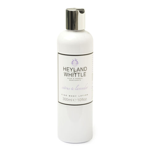 HEYLAND AND WHITTLE- Ciitrus and Lavender Body scrub, body lotion, org soap, hand cream