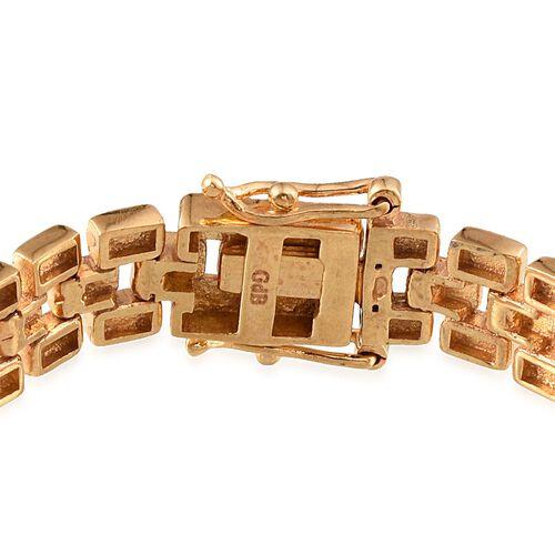 ION Plated 18K Yellow Gold Bond Bracelet (Size 7.5)