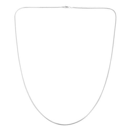 JCK Vegas Collection Sterling Silver Mirror Popcorn Chain (Size 30), Silver wt 4.70 Gms.