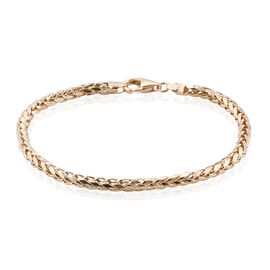 Royal Bali Collection 9K Yellow Gold Spiga Bracelet (Size 7.25), Gold wt 3.54 Gms.