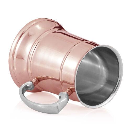 Home Decor - Tankard Mug in Rose Gold Tone