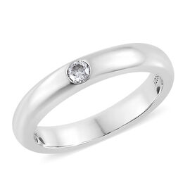 Rhapsody Diamond 950 Platinum Ring  0.080  Ct.