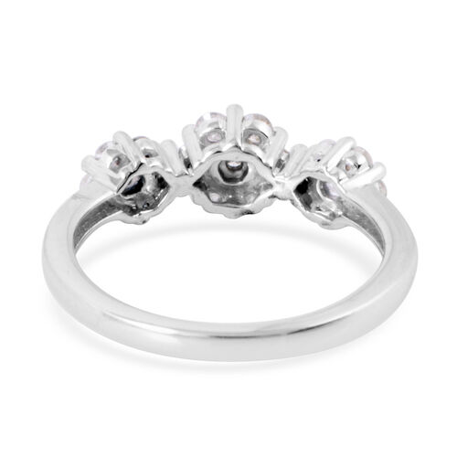 9K W Gold SGL Certified Diamond (Rnd) (I3/G-H) Ring 0.500 Ct.