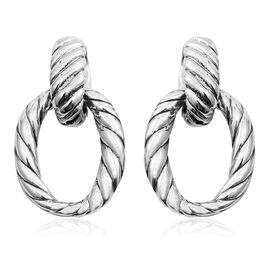Sterling Silver Earrings (with Push Back), Silver wt 4.66 Gms.