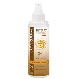 Coverderm Filteray  Deep Tan - Milk SPF30 100ml