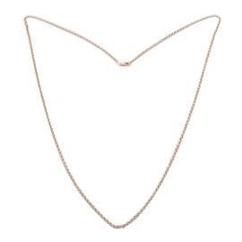 9K Yellow Gold Belcher Necklace (Size 30), Gold wt 3.30 Gms.
