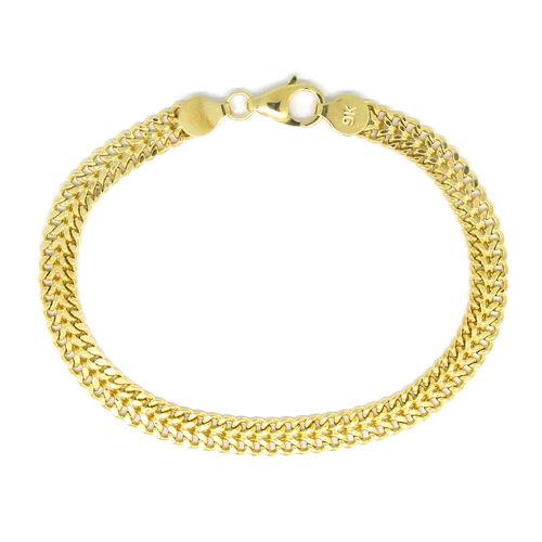 9K Yellow Gold Bracelet (Size 7.5), Gold wt 4.01 Gms.