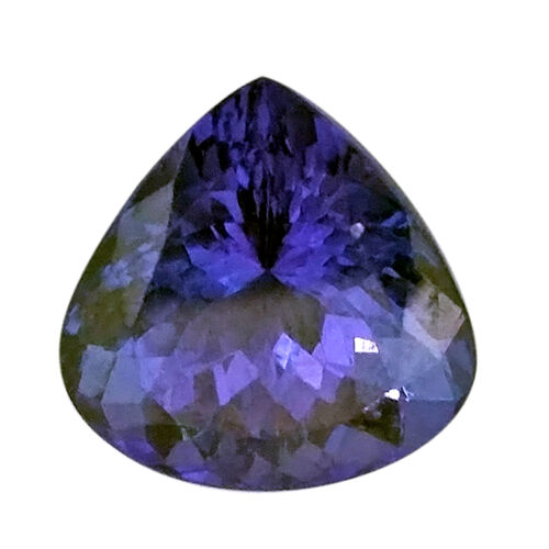 IGI Certified AAAA Tanzanite Faceted Pear 10.04 x10.01 mm 4.550 Cts (12982012)