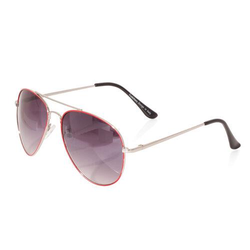 Aviator Sunglasses- Red