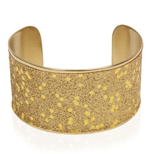 Jewels of India Brass Choker and Cuff Bangle