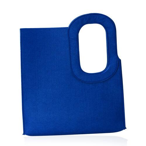 Blue Colour Felt Bag