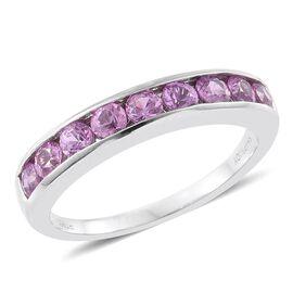 Rhapsody Madagascar Pink Sapphire (1.00 Ct) 950 Platinum Ring  1.000  Ct.