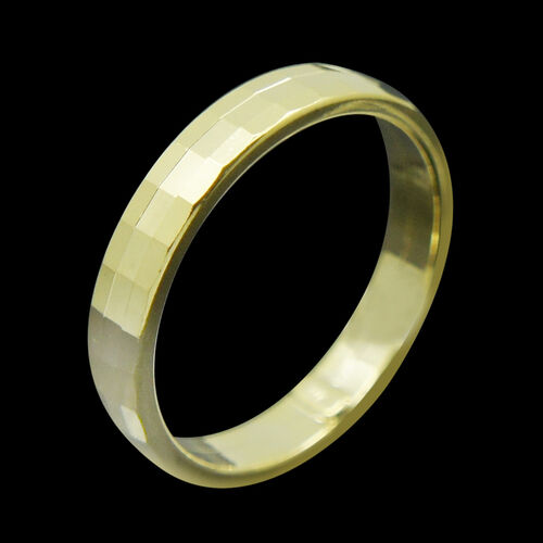 Royal Bali Collection 9K Y Gold Band Ring