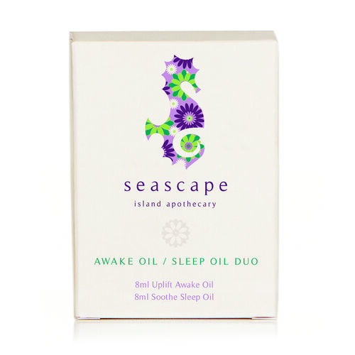 SEASCAPE- Xmas Awake Oil - Sleep Oil Duo Gift Set- Estimated dispatch in 3-5 working days