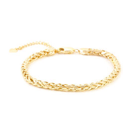 Royal Bali Collection 9K Y Gold Spiga Bracelet (Size 7), Gold wt 4.75 Gms.