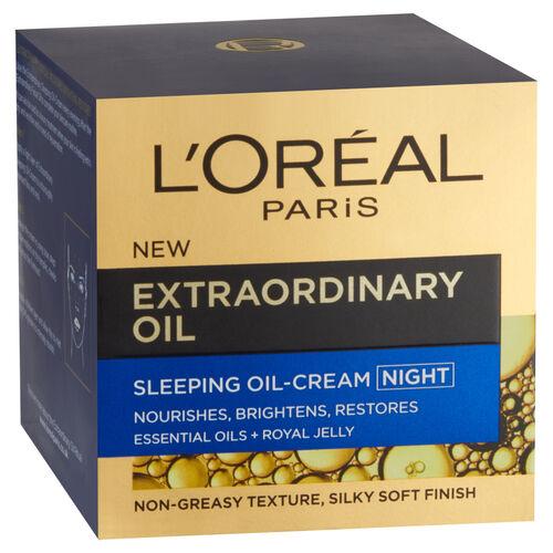 LOreal Paris Extraordinary Oil Sleeping Cream Night 50ml