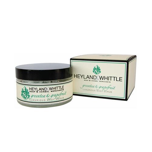 HEYLAND AND WHITTLE- Greentea and Grapefruit Body scrub, body lotion, org soap, hand cream