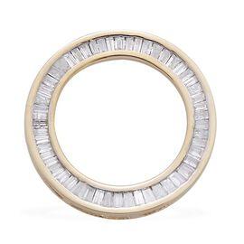 9K Y Gold SGL Certified Diamond (Bgt) (I3/G-H) Circle of Life Pendant 0.500 Ct.