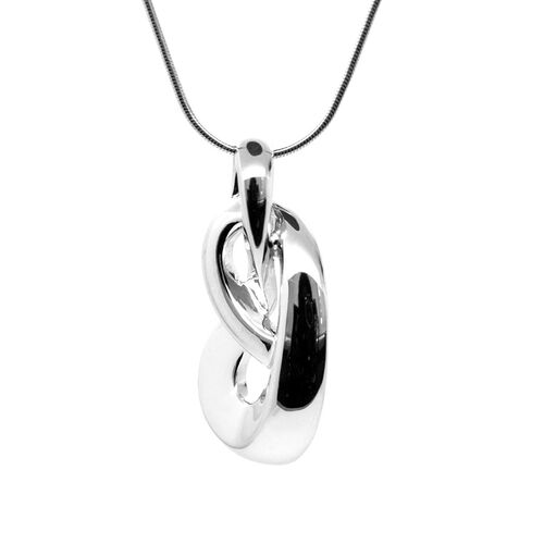Sterling Silver Fancy Pendant With Chain, Silver wt 6.41 Gms.