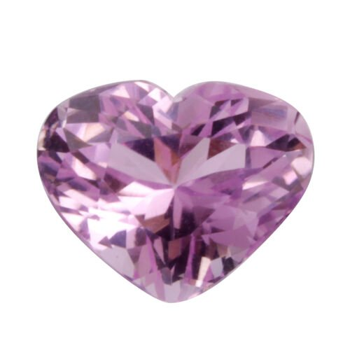 Kunzite (Heart 14 Faceted 3A) 8.300 Cts