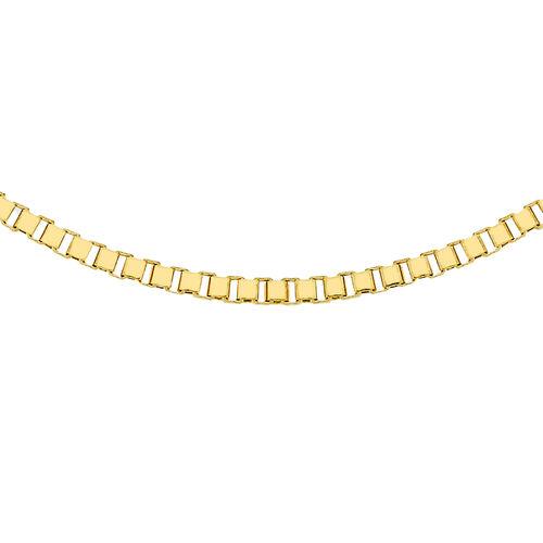 JCK Vegas Collection 9K Y Gold Box Chain (Size 20), Gold wt 5.68 Gms.