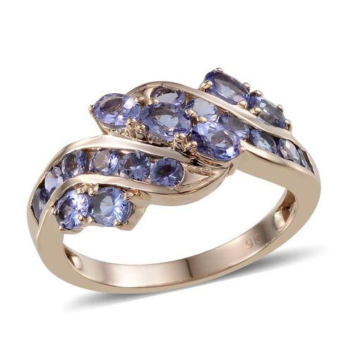 9K Y Gold Tanzanite (Ovl) Ring 2.750 Ct.