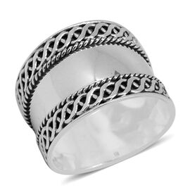 Royal Bali Collection Sterling Silver Band Ring, Silver wt. 4.40 Gms.
