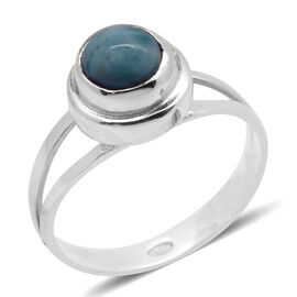 Royal Bali Collection Himalayan Kyanite (Rnd) Solitaire Ring in Sterling Silver 2.790 Ct.