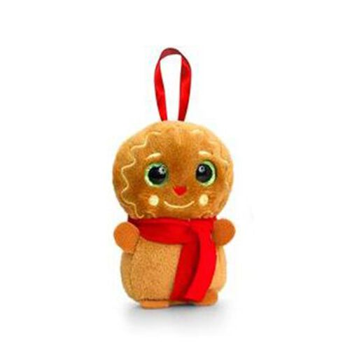 Keel Toys - Brown and Red Colour Cookieman Toy (Size 10 Cm)