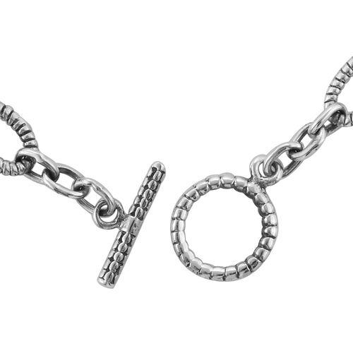 Royal Bali Collection Sterling Silver Bracelet (Size 7.5), Silver wt 15.44 Gms.