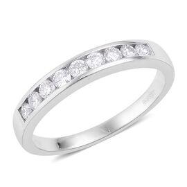 Rhapsody Diamond 950 Platinum Ring  0.570  Ct.